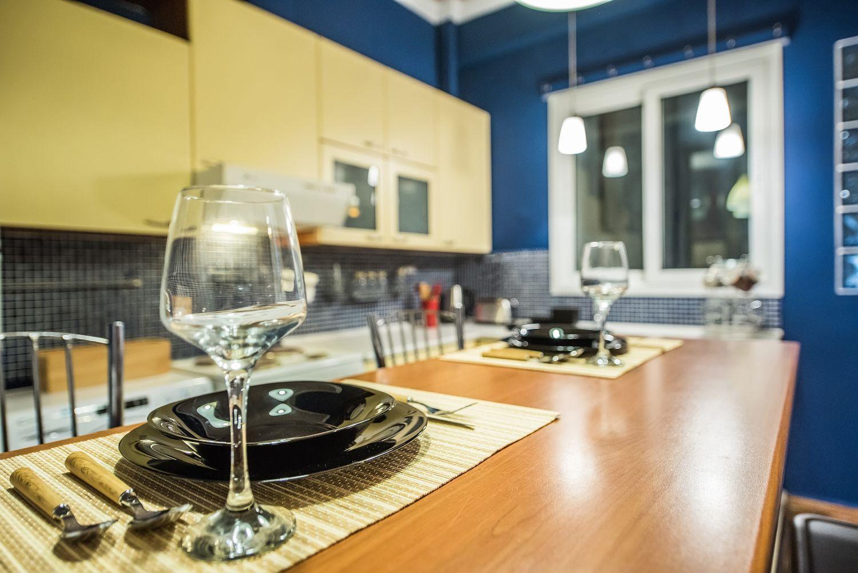 Κουζίνα Τραπεζαρία