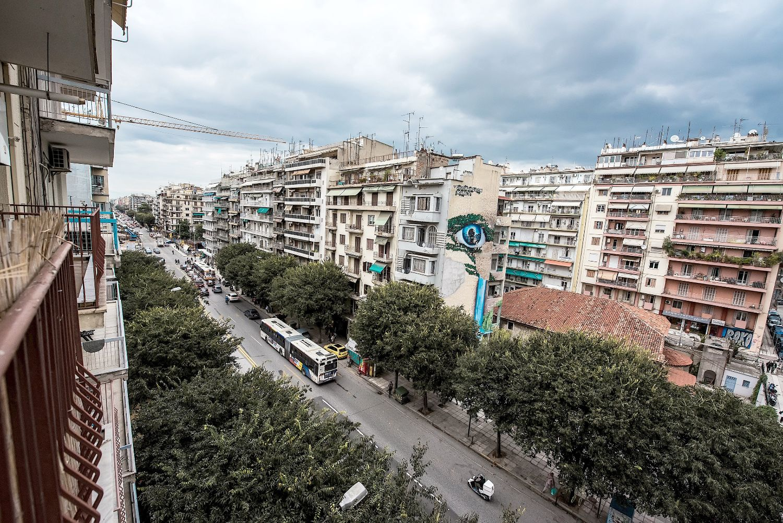 Balcony City View