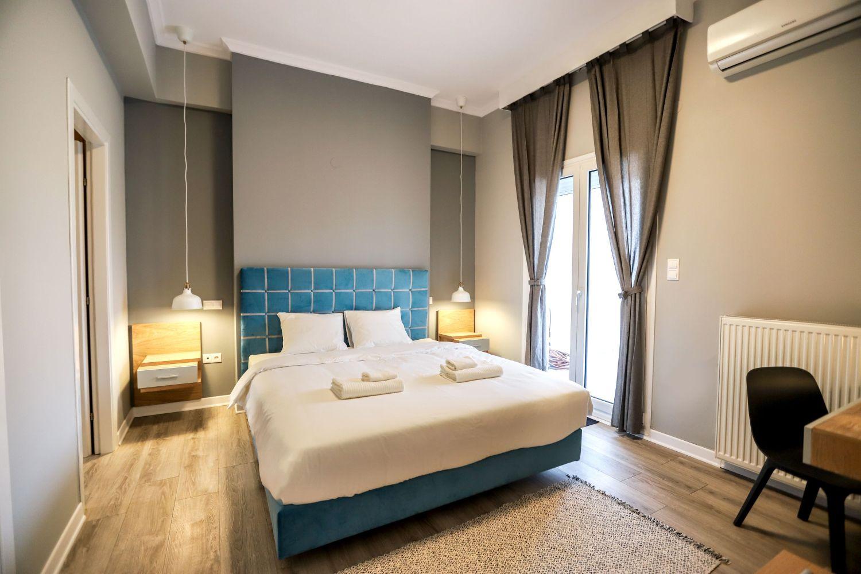 1ο Υπνοδωμάτιο με King Size κρεβάτι