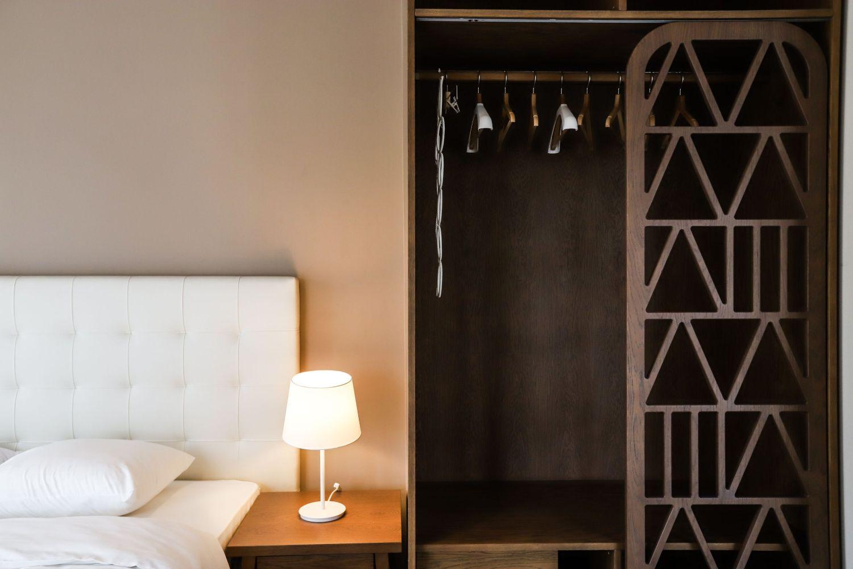 2ο Υπνοδωμάτιο με King Size κρεβάτι