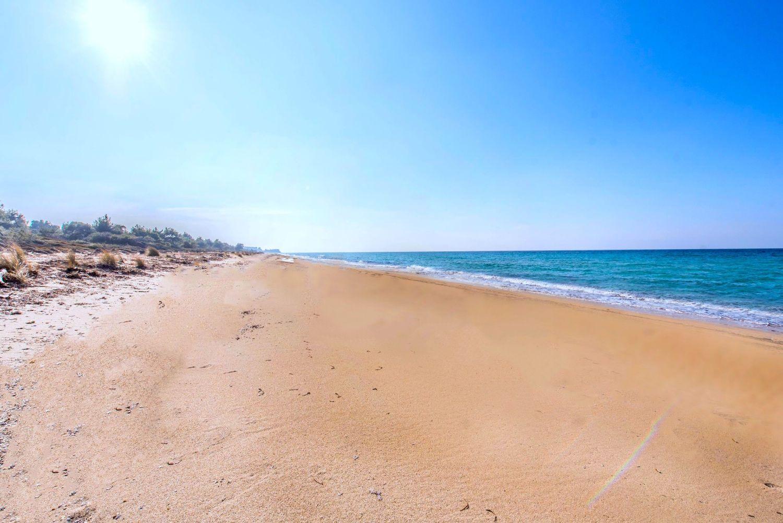 Παραλία κοντά στη βίλα