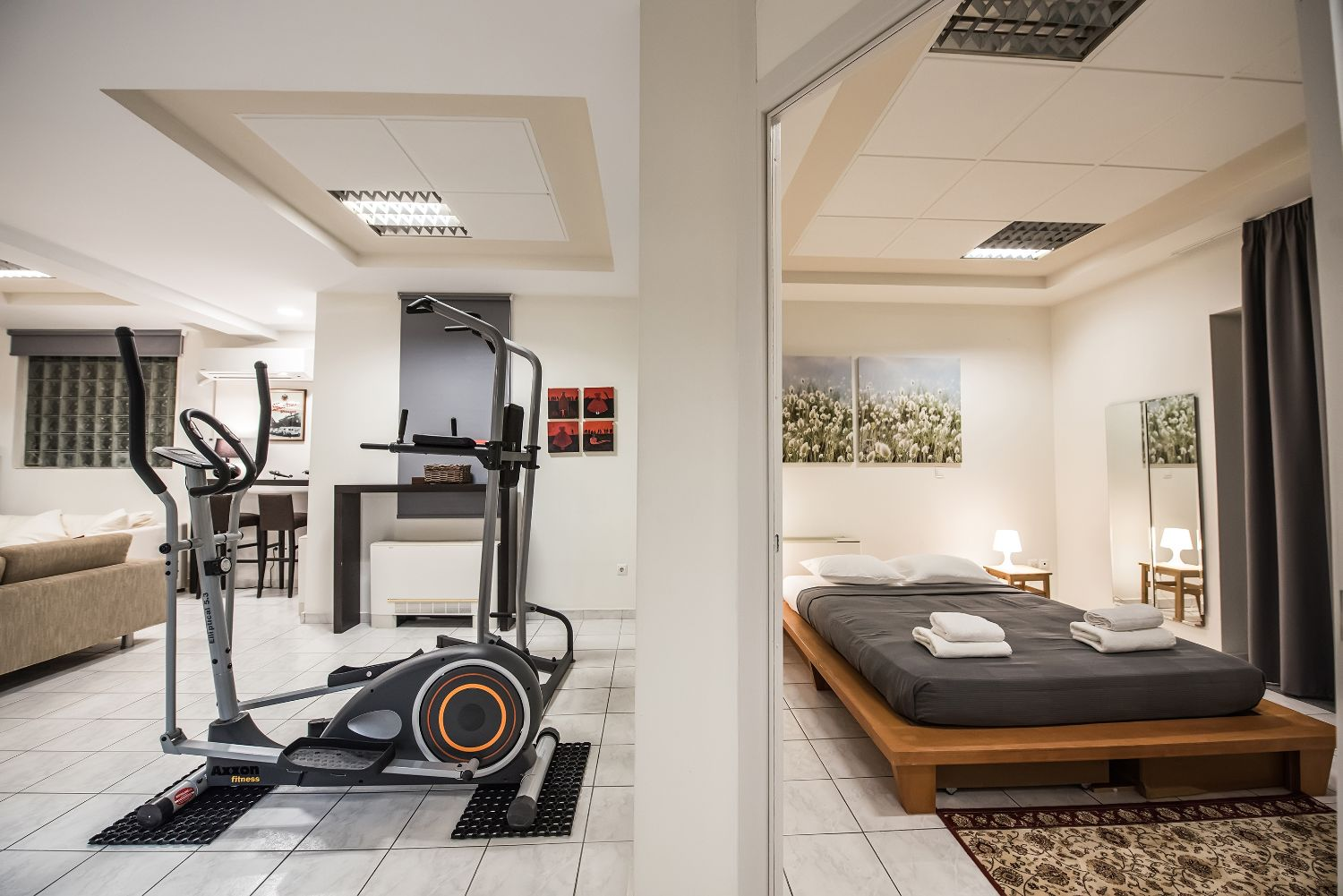 Bedroom 3 and Home Gym
