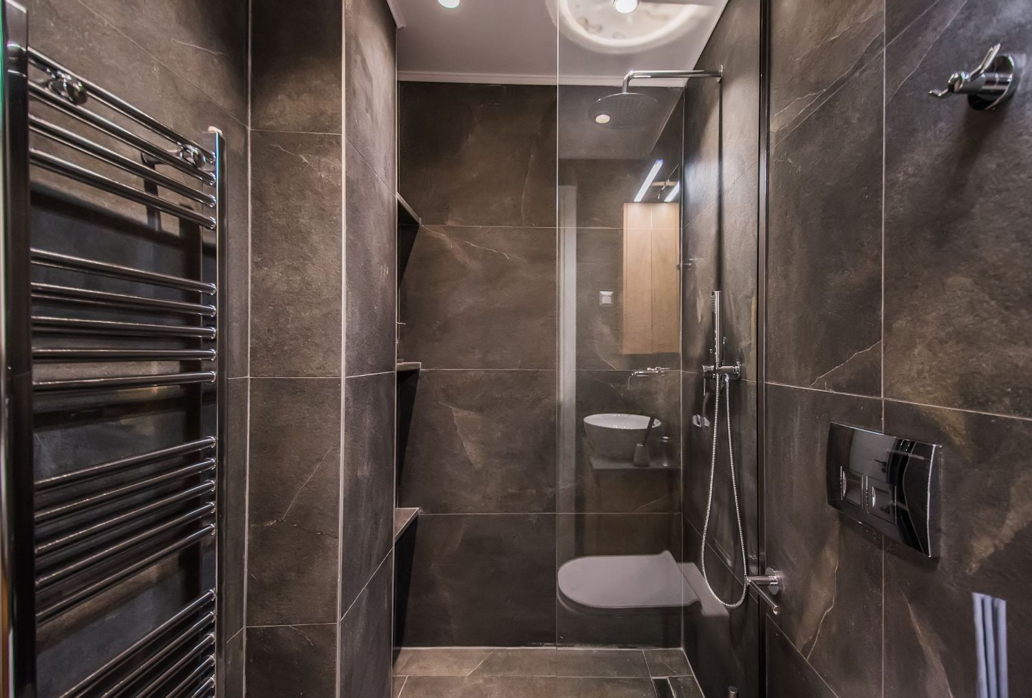Dione Bathroom with Shower and WC