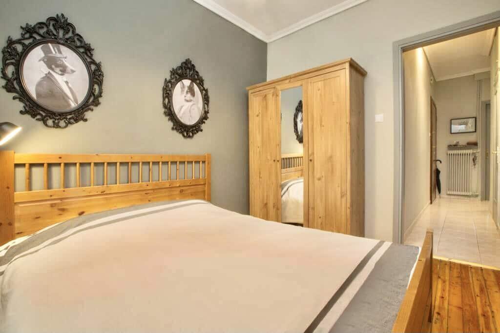 Υπνοδωμάτιο με Διπλό Κρεβάτι