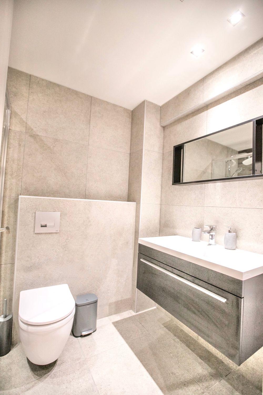 Μπάνιο Στούντιο D με ντους και WC
