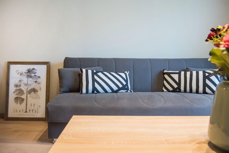 Σαλόνι, 1 καναπές-κρεβάτι