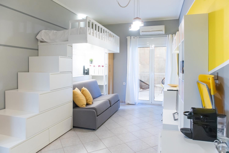 Studio Apartment COCOMAT bed