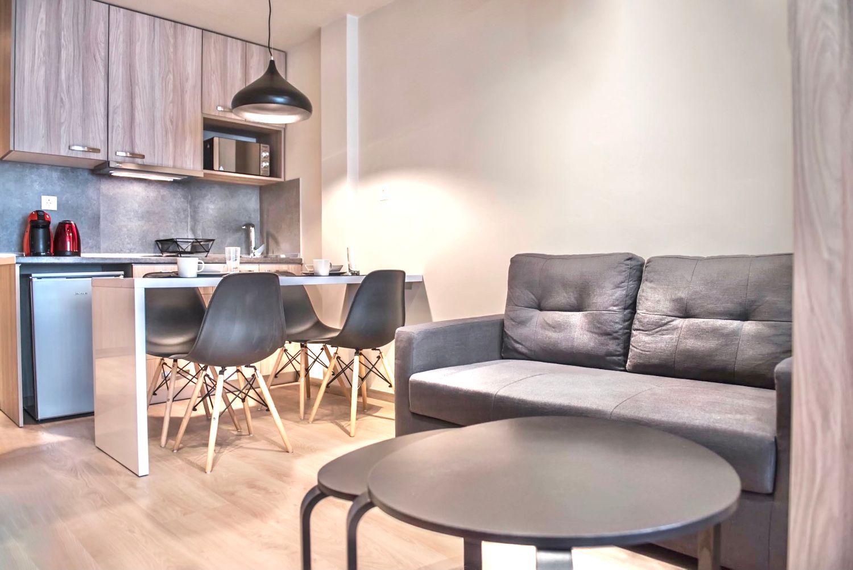 Στούντιο A Χώρος φαγητού και καθιστικού