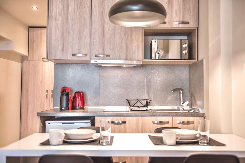 Στούντιο A Τραπεζαρία και μικρή κουζίνα