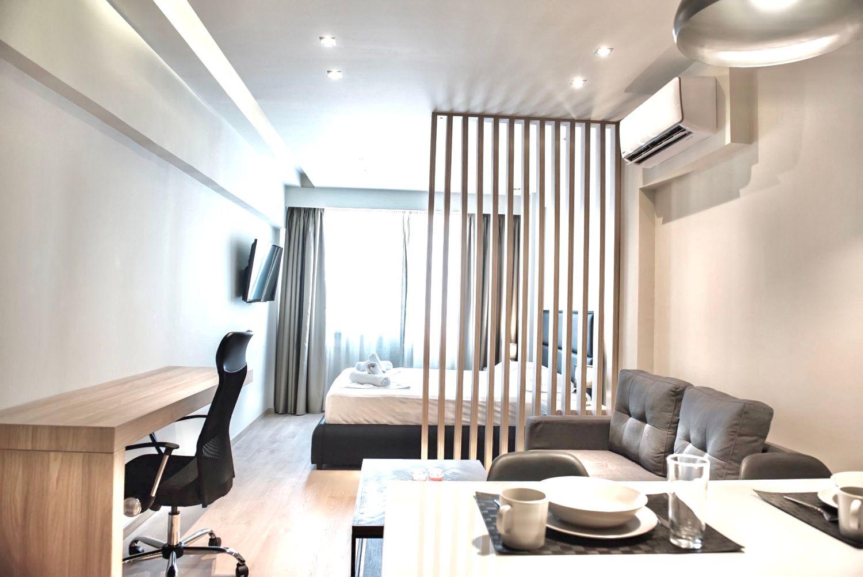 Studio B τραπεζαρία και καθιστικό