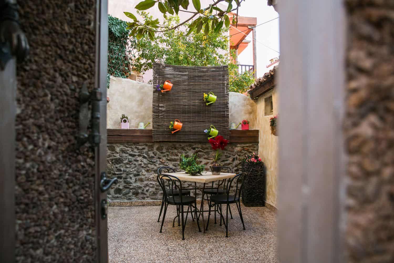 Ottoman Villa Patio, Sitting area