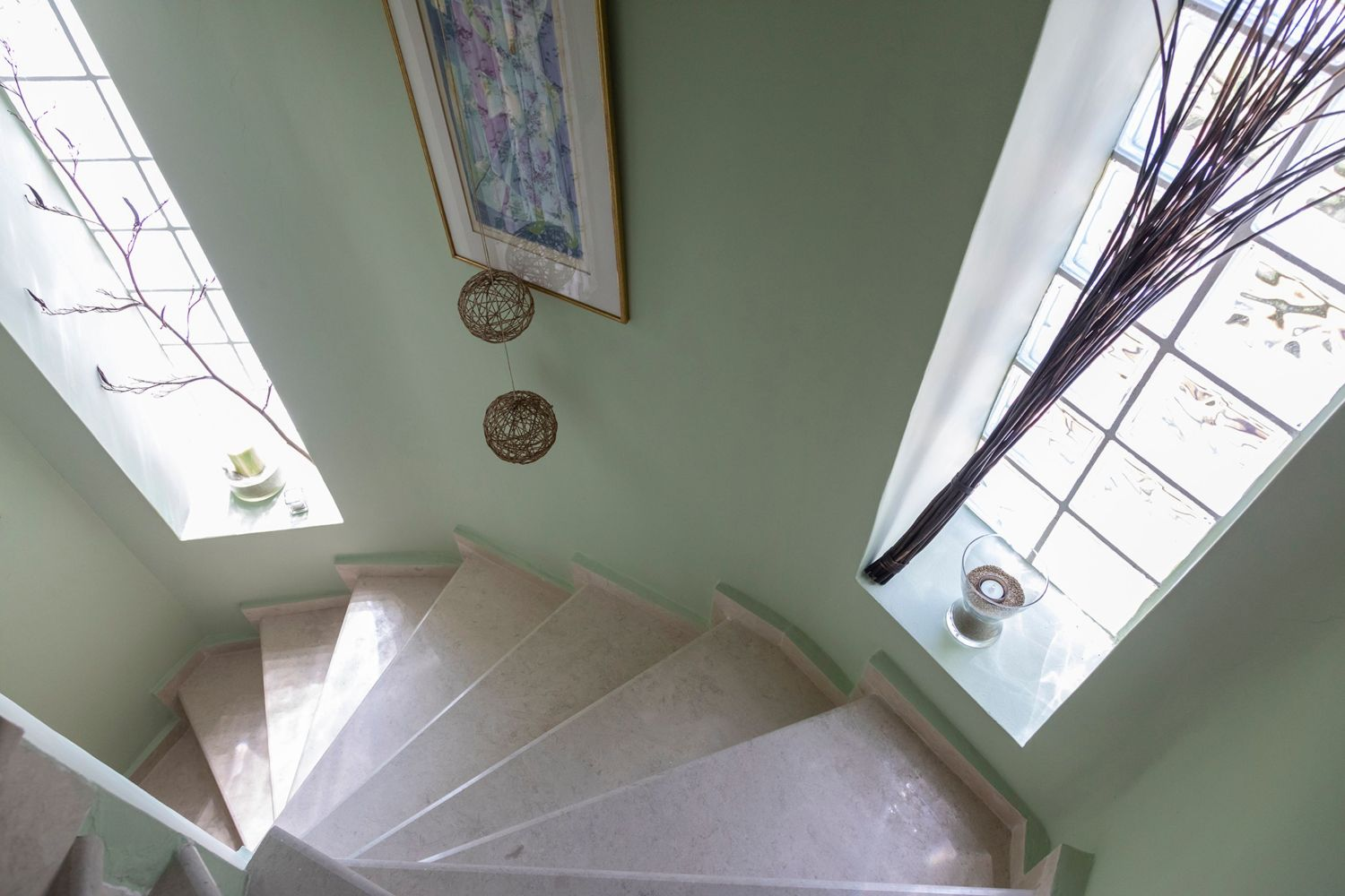 Σκαλοπάτια πάνω ορόφου