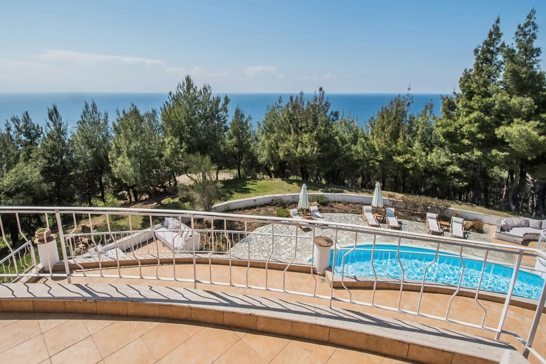 Villa Hera Balcony and Sea View
