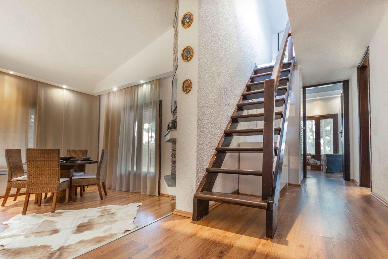 Villa Interior, stairs to 1st floor