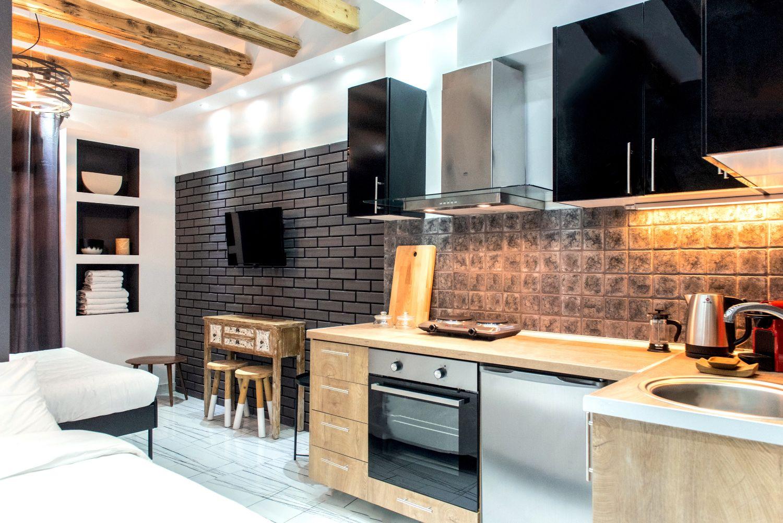 Στούντιο και κουζίνα