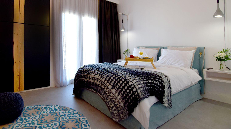 801 στούντιο με 1 διπλό κρεβάτι