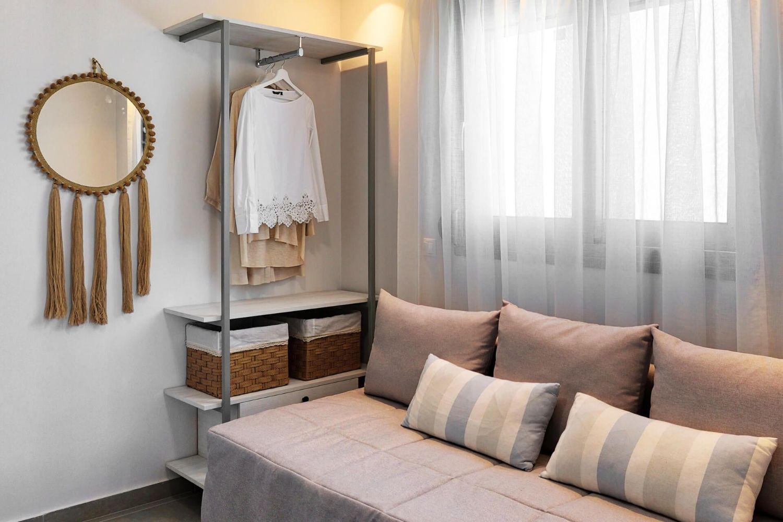 Σαλόνι με καναπέ-κρεβάτι