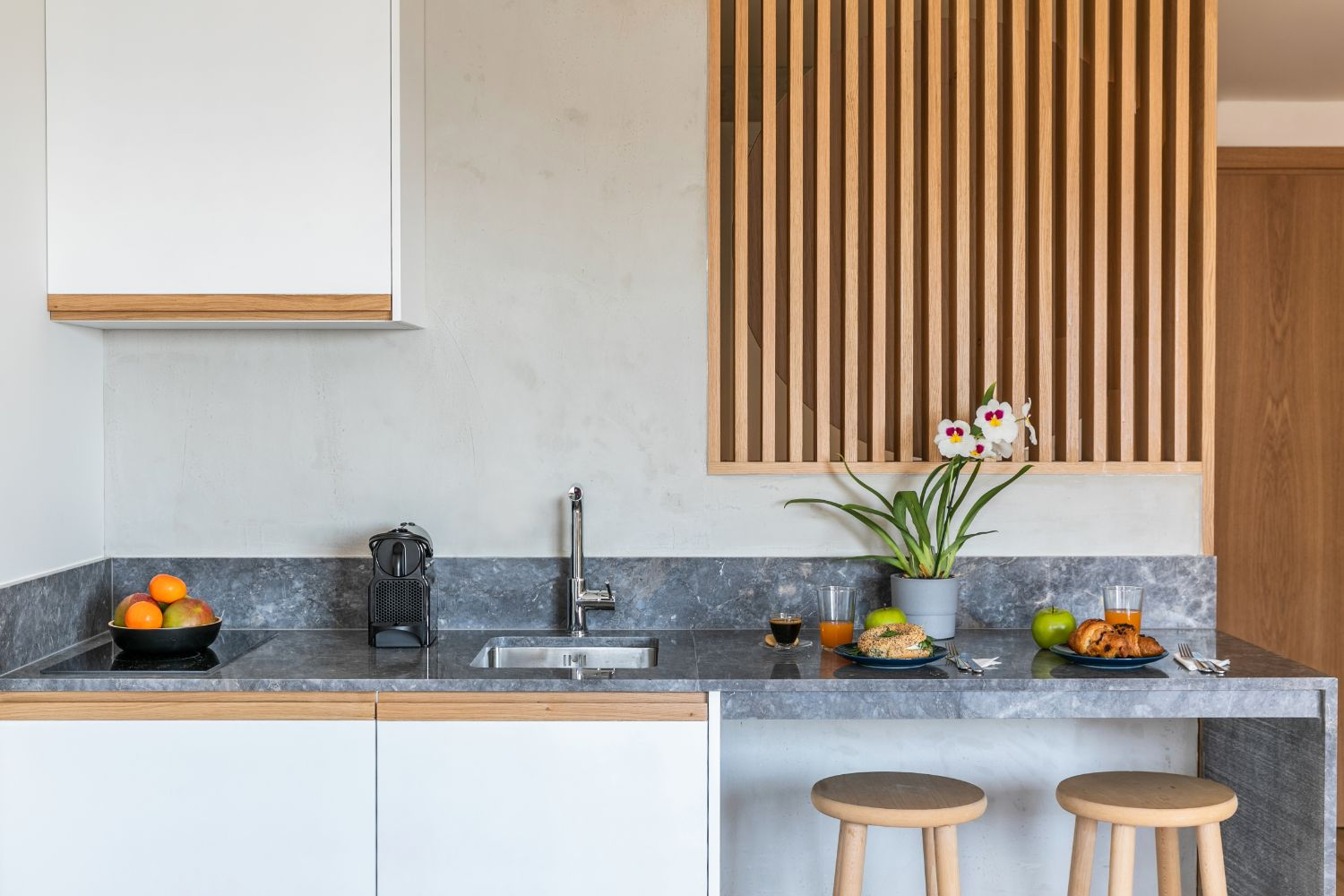 Studio 705 kitchenette