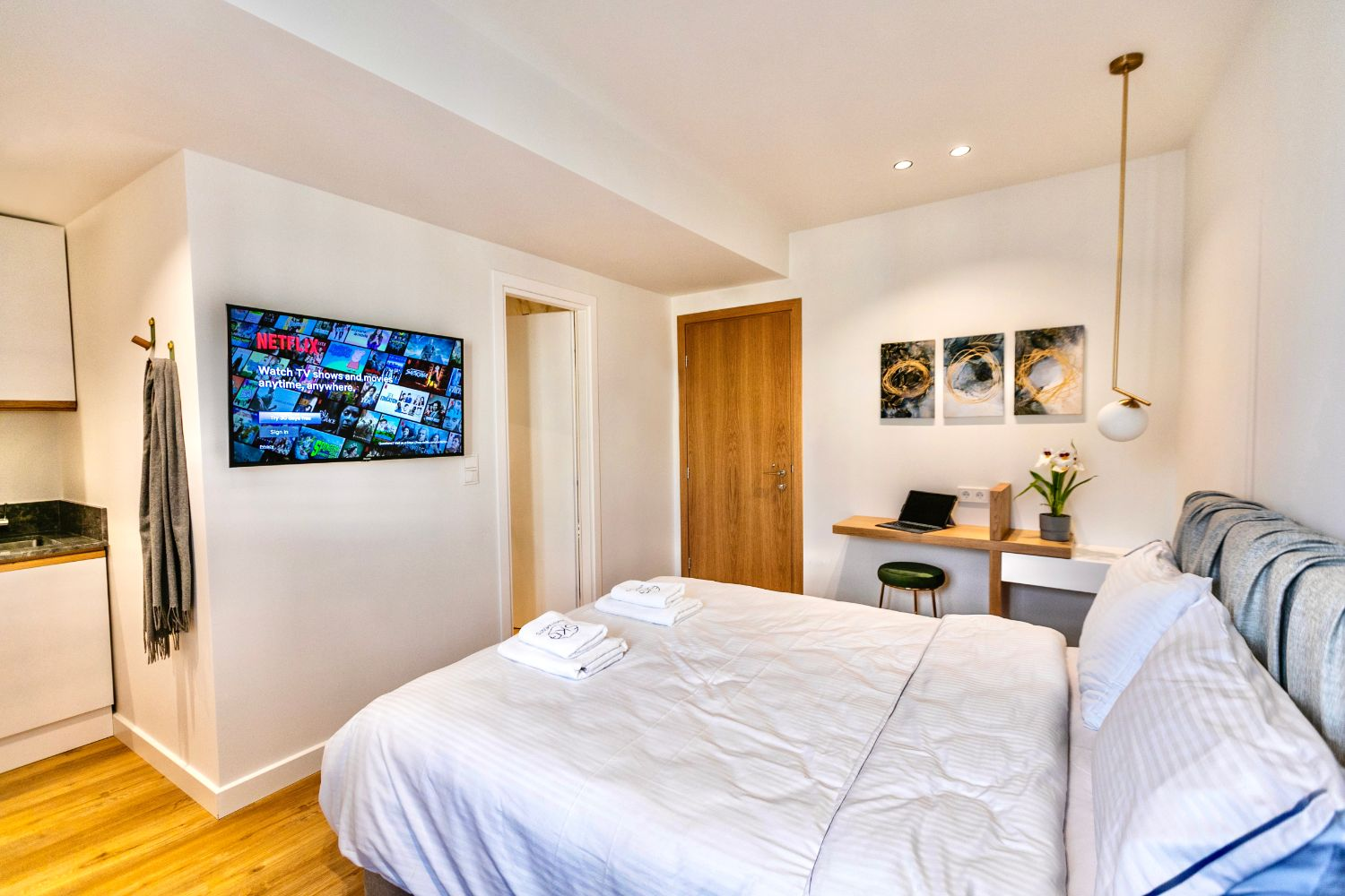 #702 Bedroom with Double Bed