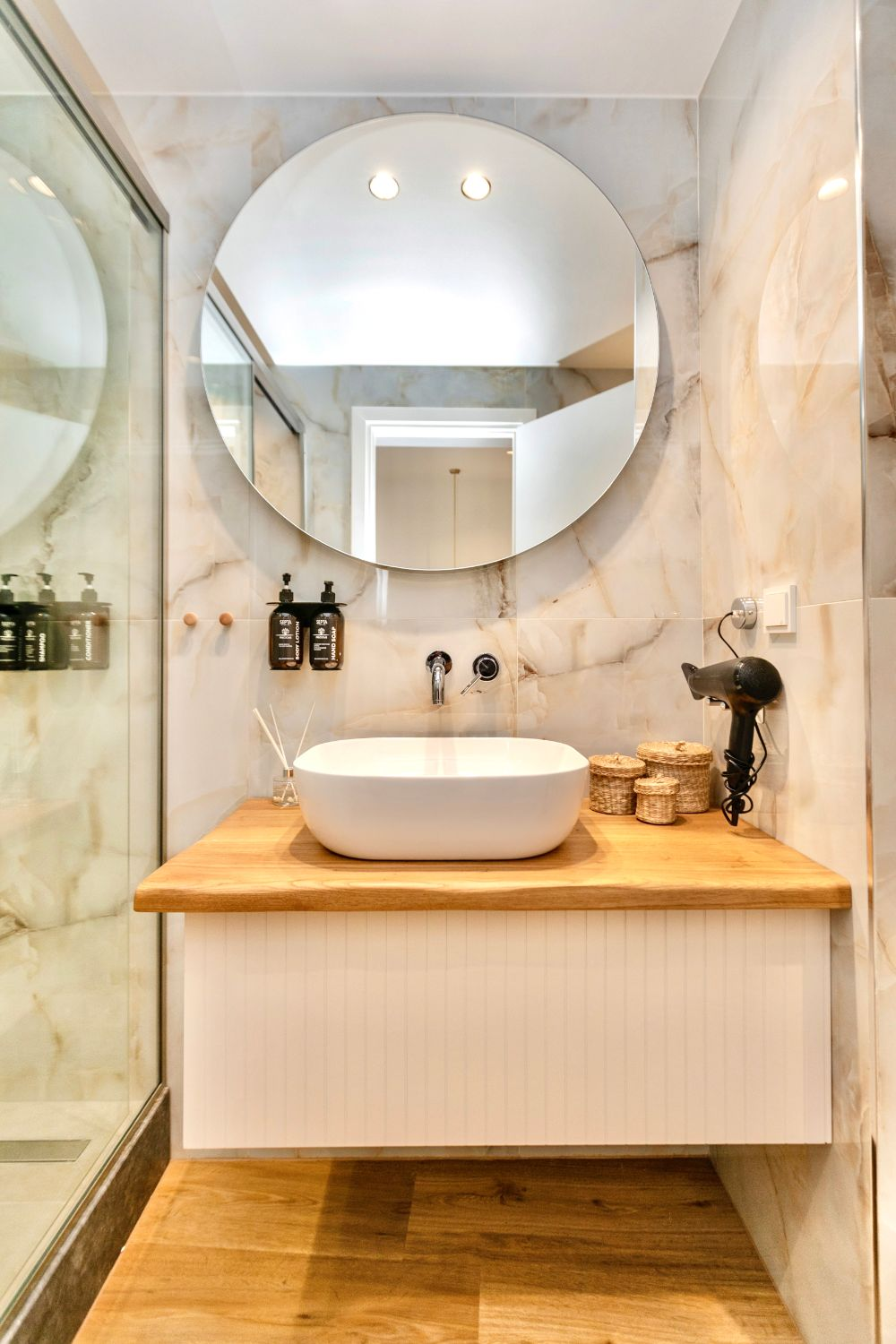 #702 Bathroom with WC and Shower
