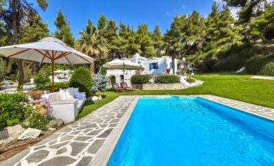 #Ammos: Cycladic Villa with Private Pool