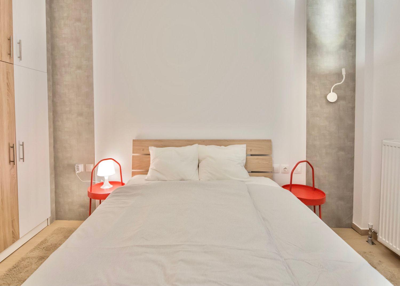 Κύριο υπνοδωμάτιο με Queen κρεβάτι