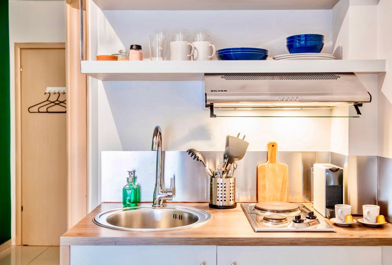 Στούντιο 1: Μικρή κουζίνα