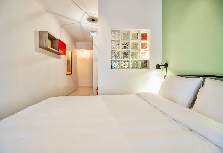 Studio 2: King size κρεβάτι