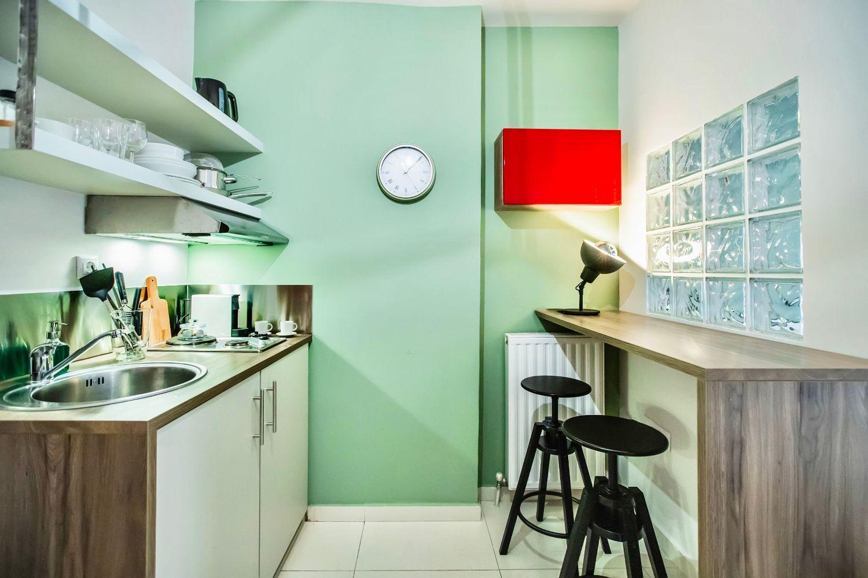 Στούντιο 2: Μικρή κουζίνα