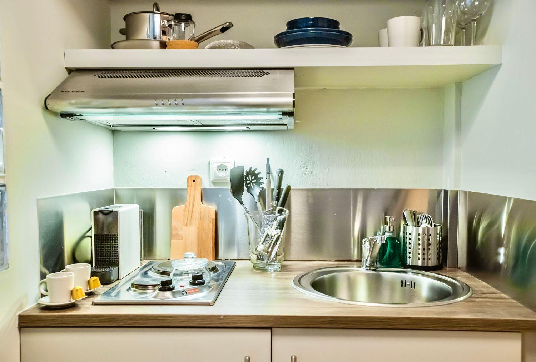 Στούντιο 3: Μικρή κουζίνα
