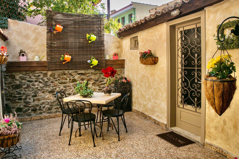 Ottoman shared picturesque garden
