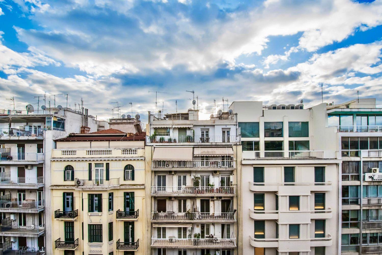 Θέα στην πόλη από τον 7ο όροφο