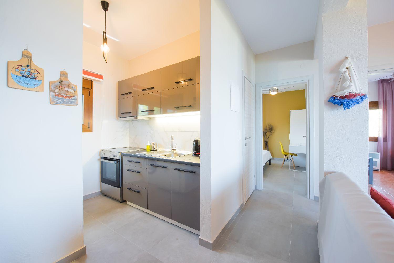 Kitchen and bedroom 1