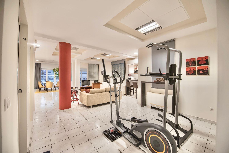Living Room and home gym